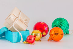 Gift in the New Year. Stock Photo