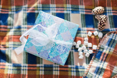 Gift, new year, surprise Royalty Free Stock Photo