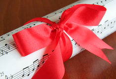 Gift Of Music Royalty Free Stock Photo