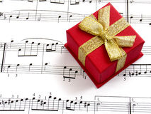 Free Gift Of Music Royalty Free Stock Image - 626356