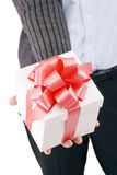 Gift offer Stock Photography