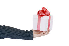 Gift offer Stock Images