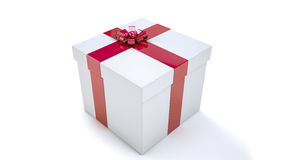 Gift Pack. As a surprise gift package Stock Photo