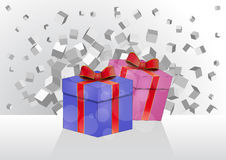 Gift pack Royalty Free Stock Photography