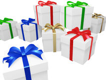 Gift Package. This graphic is Gift Package Royalty Free Stock Photo