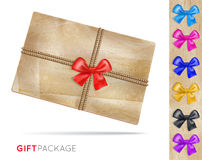 Gift package Stock Photos