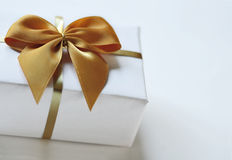 Gift in the package with ribbon Royalty Free Stock Images