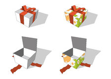 Gift packages Royalty Free Stock Photography