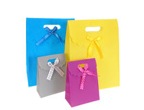 Gift packages Stock Photo