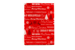 Gift packages colored  and Christmas-accessories isolated on white. Gift packages colored  and Christmas-accessories isolated Royalty Free Stock Image
