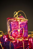 Gift packages for a party such as Christmas Stock Photography