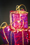 Gift packages for a party Royalty Free Stock Photography