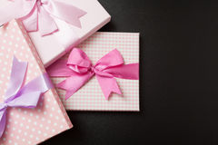 Gift packages Royalty Free Stock Images
