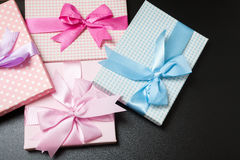 Gift packages Royalty Free Stock Photo