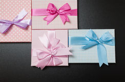Gift packages Stock Photography