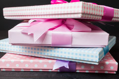 Gift packages Stock Images