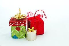 The Gift Packages Royalty Free Stock Photography