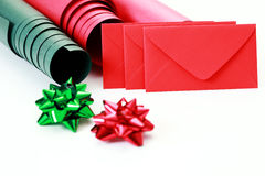 Gift packaging Royalty Free Stock Photos