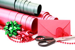 Gift packaging Royalty Free Stock Images