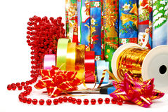 Gift packaging Stock Images
