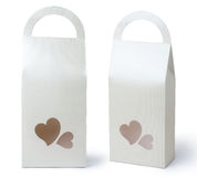 Gift packaging paper bags Royalty Free Stock Photo