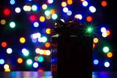 Gift packet. Gift that we find under the Christmas tree Royalty Free Stock Photo