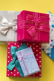 Gift Packet. The Gift Packet in Surprise Royalty Free Stock Photo