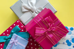 Gift Packet. The Gift Packet in Surprise Stock Images