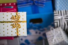 Gift Packet. The Gift Packet in Surprise Royalty Free Stock Photography