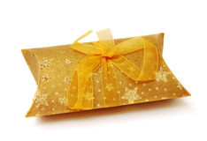 Gift packing with a bow Royalty Free Stock Images