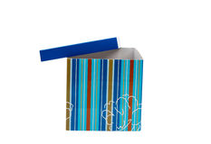 Gift packing box with a bow Royalty Free Stock Photography