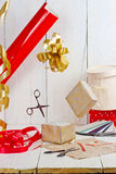 Gift packing Stock Photography