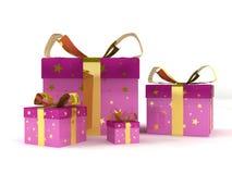 Gift packs Stock Photos