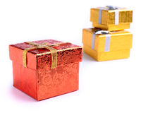 Gift packs Stock Photography