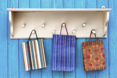 Gift paper bags Royalty Free Stock Photos