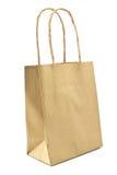 Gift paper shopping bag Stock Photos