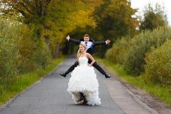 Gift par tillsammans Royaltyfri Foto