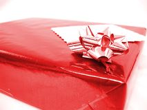 Gift Parcel Royalty Free Stock Photography