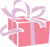 Gift parcel Royalty Free Stock Image