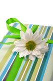 Gift - path. Gift box with clipping path Stock Photography