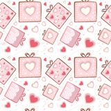 Gift pattern Royalty Free Stock Photography