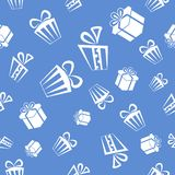 Gift pattern background Royalty Free Stock Photography