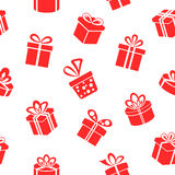 Gift pattern Royalty Free Stock Images