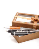 Gift pen Stock Photography