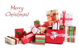 Gift pile Stock Image