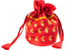 Gift pouch Royalty Free Stock Photo