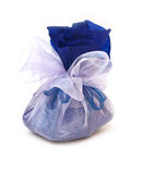 Gift pouch isolated Stock Image