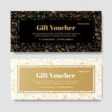Gift premium voucher, coupon template. royalty free stock photography