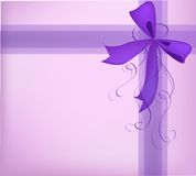 Gift present ribbon Stock Photos