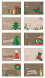 Gift and Present Tags stock illustration